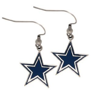 Dallas Cowboys Logo Earrings (Dangle)