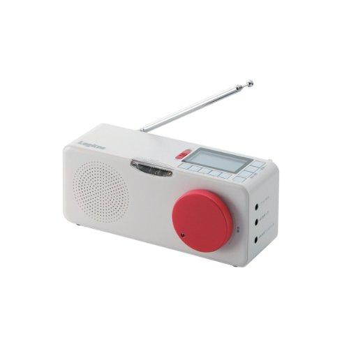 Logitec 【FM/AM対応】地震・津波 緊急警報ラジオ 乾電池/AC電源両対応 フラッシュライト付 LRT-ER100