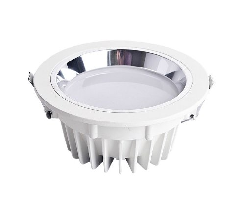 Domire Silvery Led Day White 30W Recess Downlight Ceiling Lamp Replace 270W Incandescent Bulb Energy Efficient Lights