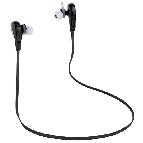 KEDSUM Wireless Stereo Bluetooth 4.1 Noise Cancelling Earphones with Microphone - Black