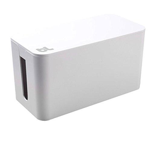 Bluelounge CableBox Mini Range-câbles Blanc