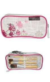 Best Cheap Deal for ECOTOOLS Alicia Silverstone COSMETIC BAG & MAKEUP BRUSH SET Made of Natural Hemp & Recycled PET by Paris Presents Inc. - Free 2 Day Shipping Available