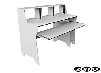 Zomo 0030102901 Milano Studio Table Blanc