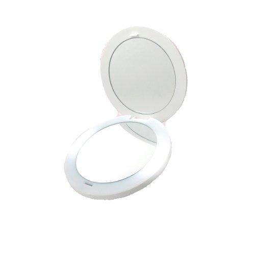 USB充電式 拡大ミラー LED ライト付