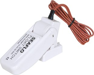 Seaflo Marine Bilge Pump Float Switch - White primary