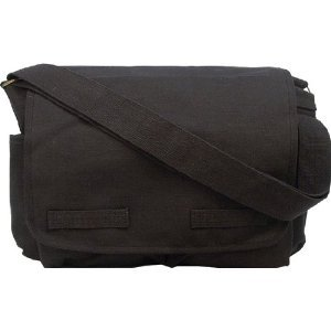 Rothco Vintage Classic Army Messenger Heavy Weight Shoulder Bag