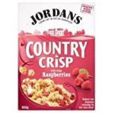 Jordans Country Crisp With Tangy Raspberries 500G