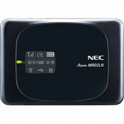 NEC LTEモバイルWiFiルーター Aterm MR02LN PA-MR02LN5B
