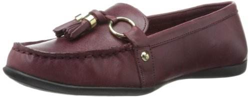Bella Vita Women's Mallory Ornamented Loafer,Oxblood Leather,8.5 W US