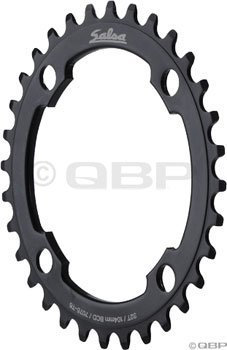 Salsa 36t 104mm 4-bolt Chainring Black