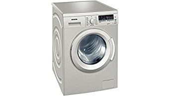 Siemens WM14Q49XFF machine à laver - machines à laver (Autonome, Charge avant, A+++-30%, A, B, Acier inoxydable)