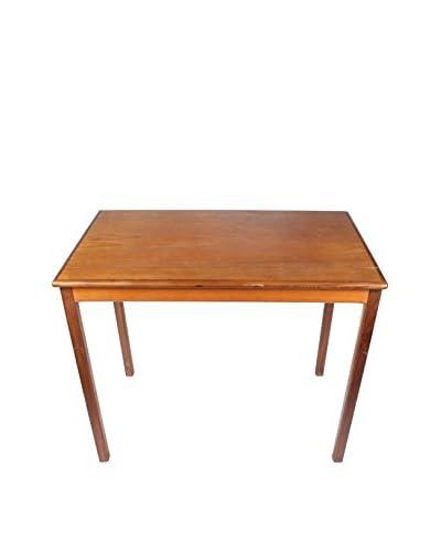 Scandinavian Teak End Table, Brown