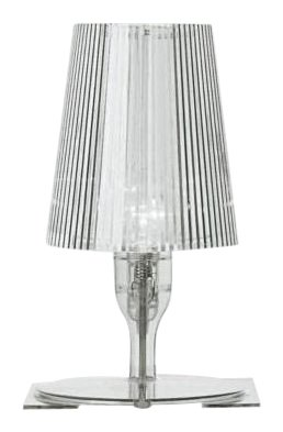Kartell 9050b4 lampe de chevet take transparent amazon - Table de chevet kartell ...