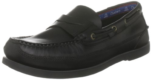 Chatham Marine Men's Gaff G2 Black Boat Shoe D1116 10 UK, 44 EU