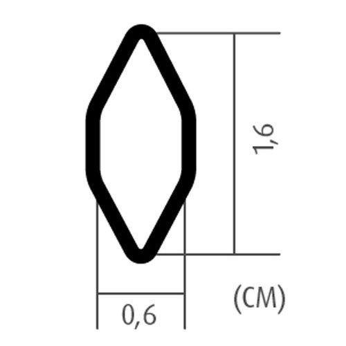 Kühlergrill Rautengitter Alu 100x25cm große Waben schwarz Renngitter Racegitter