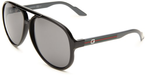 Gucci GG1627/S Sunglasses – 0Q20 Lead (B8 Grey Silver Mirror Lens) – 59mm
