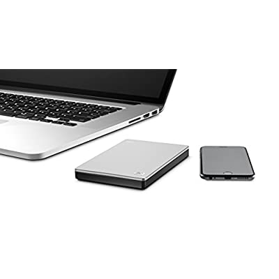Seagate Slim 500 GB USB 3.0 Portable Hard Drive for Mac (STCF500102)