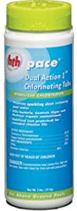 """Arch Chemical 41214 """"Hth""""dual Action Chlorinating Tablet 1"""" 1.5 Lb (Pack of 6)"""