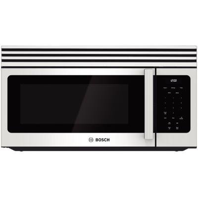 Bosch Hmv3022U 300 1.6 Cu. Ft. White Over-The-Range Microwave