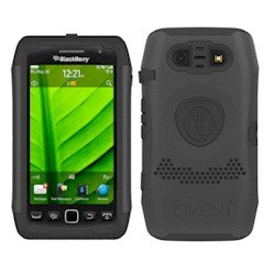 Trident Case Ag-Bb-9850-Bk Aegis Series For Blackberry 9850/9860 - Black - 1 Pack - Carrying Case - Retail Packaging