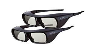 Sony TDGBR250 3D Glasses (Pack of 2 Pairs)