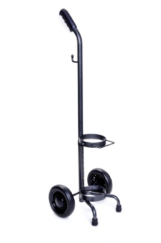 D & E Cylinder Rolling Cart - Hcs53006 - Respiratory Oxygen Therapy Carts HCS53006