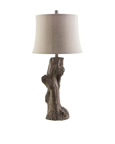 Surya Cedarcreek 1-Light Table Lamp, Driftwood