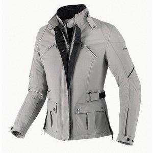 SPIDI Synclair - Veste textile moto pour Femme en Gris Taille : M