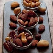 Deluxe Mixed Nuts, Roasted Almonds & Spicy Rice Crackers -- a Gourmet Father's Day Gift! from The Nut Factory