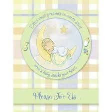 Precious Moments 'Baby Moments' Invitations w/ Envelopes (8ct)