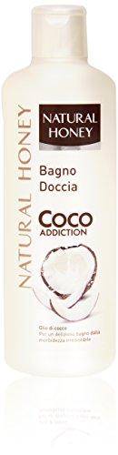 Natural Honey - Bagno Doccia Coco Addiction, Olio Di Coco - 750 Ml