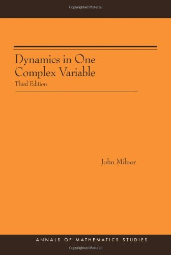 Dynamics in One Complex Variable. (AM-160): Third Edition. (AM-160) (Annals of Mathematics Studies)