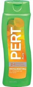 Pert Plus 2 in 1 Shampoo + Conditioner, Unisex, Invigorating, Fresh, Refreshed Hair and Scalp 13.5 Oz / 400 Ml (Pack of 3)