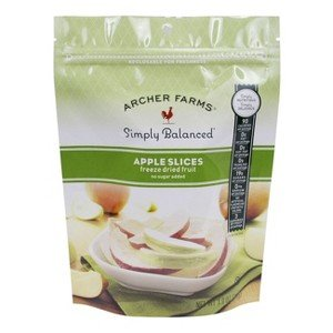 Archer Farms simply balanced freeze dried apple slices 1 oz pkt(Pack of 3)