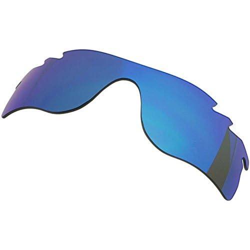 オリジナルブランド ZERO オークリー サングラス用交換レンズ RADARLOCK PATH レーダーロック パス BLUE MIRROR VENTED