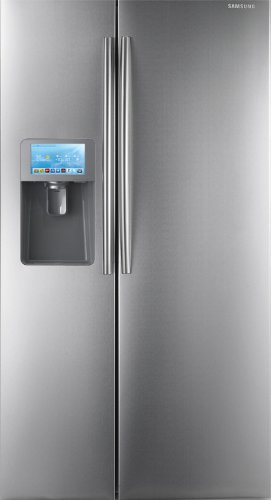 Samsung RSG309 30 Cubic Foot Side by Side Refrigerator with 2 Doors, Integrated Water & Ice, an