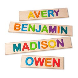 Child's Personalized Name Puzzle- Up to 9 Letters (Personalized Name Baby compare prices)