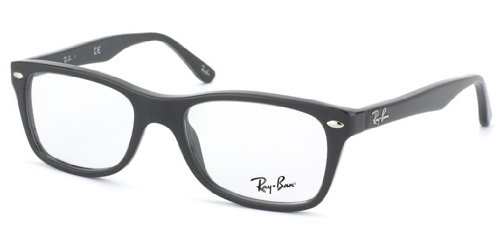 Ray Ban RX5228 Eyeglasses-2000 Shiny Black-50mm