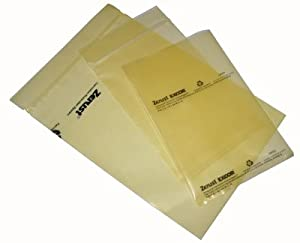 "Zerust Multipurpose VCI Poly Bag - Zip Closure - 6"" x 8"" - Pack of 6 by Zerust"