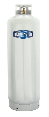 Worthington 303953 100-Pound Steel Propane Cylinder With 10% Valve And Collar (Propane Tanks compare prices)