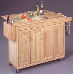 Cheap Breakfast Bar Kitchen Island with Drop Leaf (B0017LQDUW)