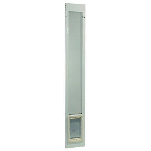 Ideal Pet Products Fast Fit Patio Door for Pets, Medium, White (Dog Door Glass compare prices)