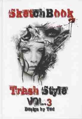 sketchbook trash style vol 3 tattoo vorlagen buch. Black Bedroom Furniture Sets. Home Design Ideas