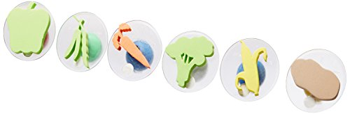 Center Enterprise CE6766 READY2LEARN Giant Vegetable Stamps (Pack of 6)