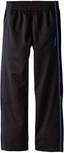 Reebok Big Boys' Boy Pieced Pant, Black/Blue, Small
