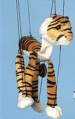 "16"" Tiger Marionette (Small)"