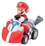 Tomy ChoroQ Steer Mario Kart Wii Mario