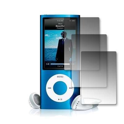 Premium Crystal Clear Lcd Screen Protectors For Apple Ipod Nano 5Th-3 Pack
