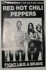 Red Hot Chili Peppers-60 x 90 cm, motivo: manifesto/Poster ""