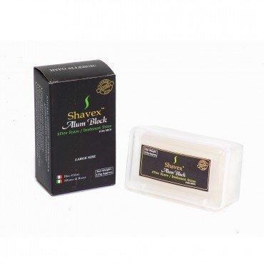 Shavex Alum Block With Plastic Case - 125G